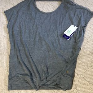 🌟GAIAM yoga flint grey heather Ellie tunic SIZE M